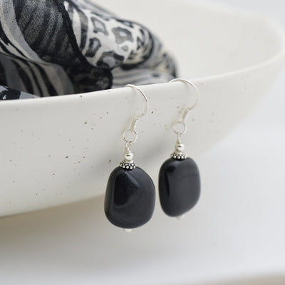 Earrings - Black Onyx earrings