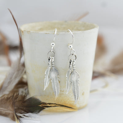Earrings - Feather Earrings