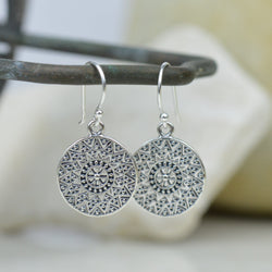 Earrings - Mandala Earrings