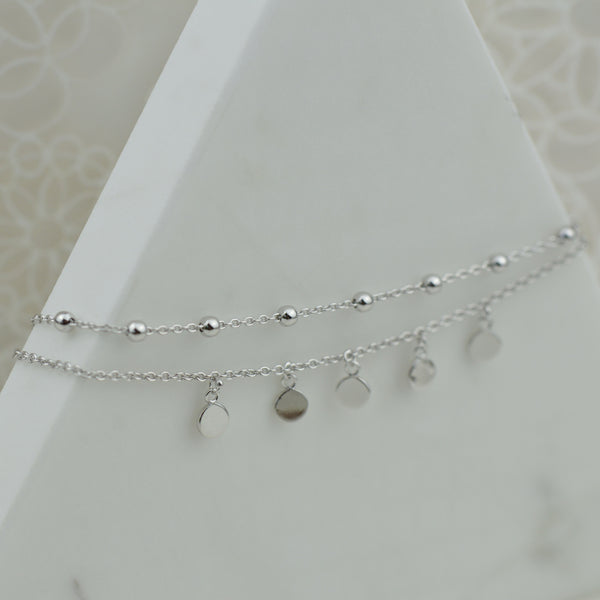 Double Strand Gypsy Anklet
