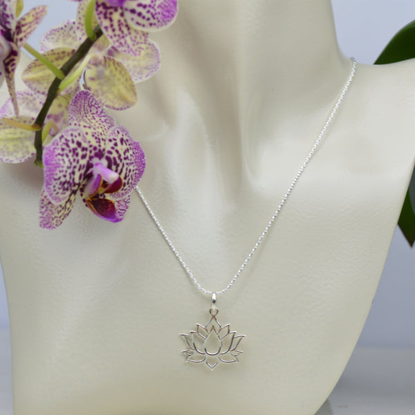 Necklaces - Lotus Flower Necklace