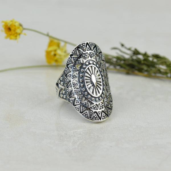 Rings - Bohemian Mandala Ring