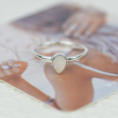Rings - Teardrop Shell Ring