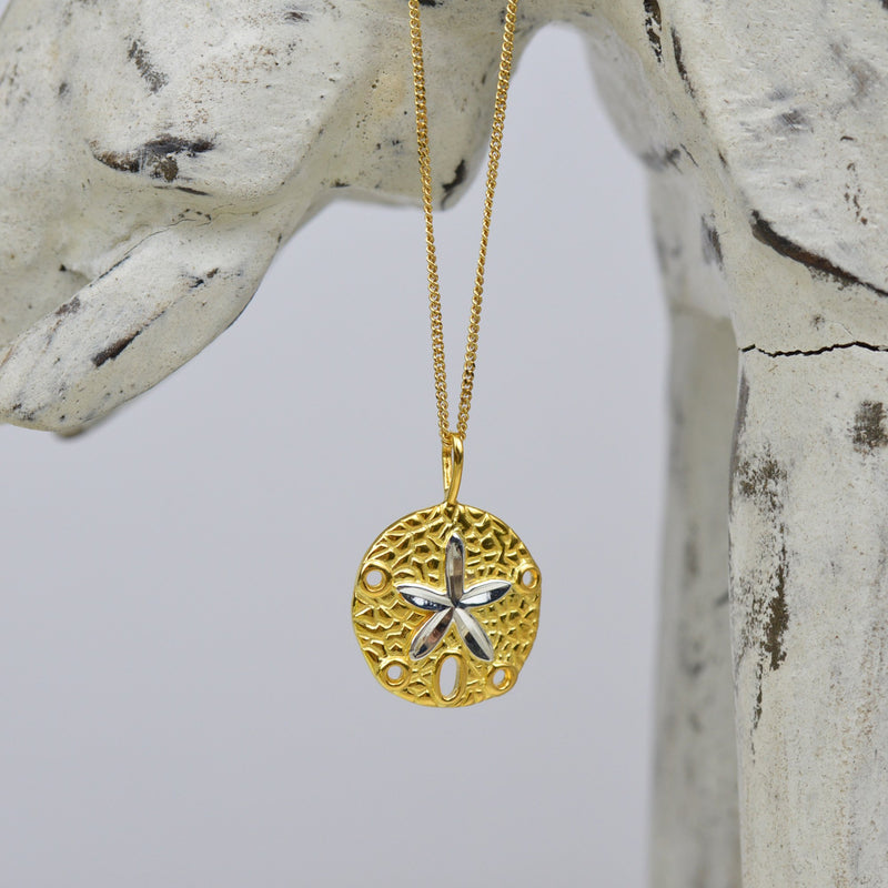 Necklaces-Golden Glow Starfish Neckla