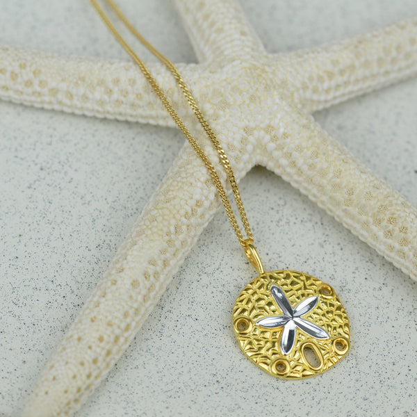 Necklaces-Golden Glow Starfish Necklace