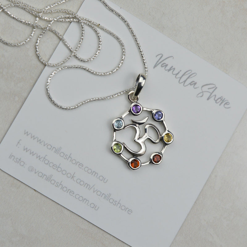 Necklaces - Om Chakra Necklace
