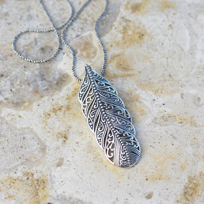 Necklaces - Bohemian Feather Necklace