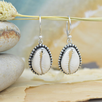 Earrings - Cowrie Shell Earrings