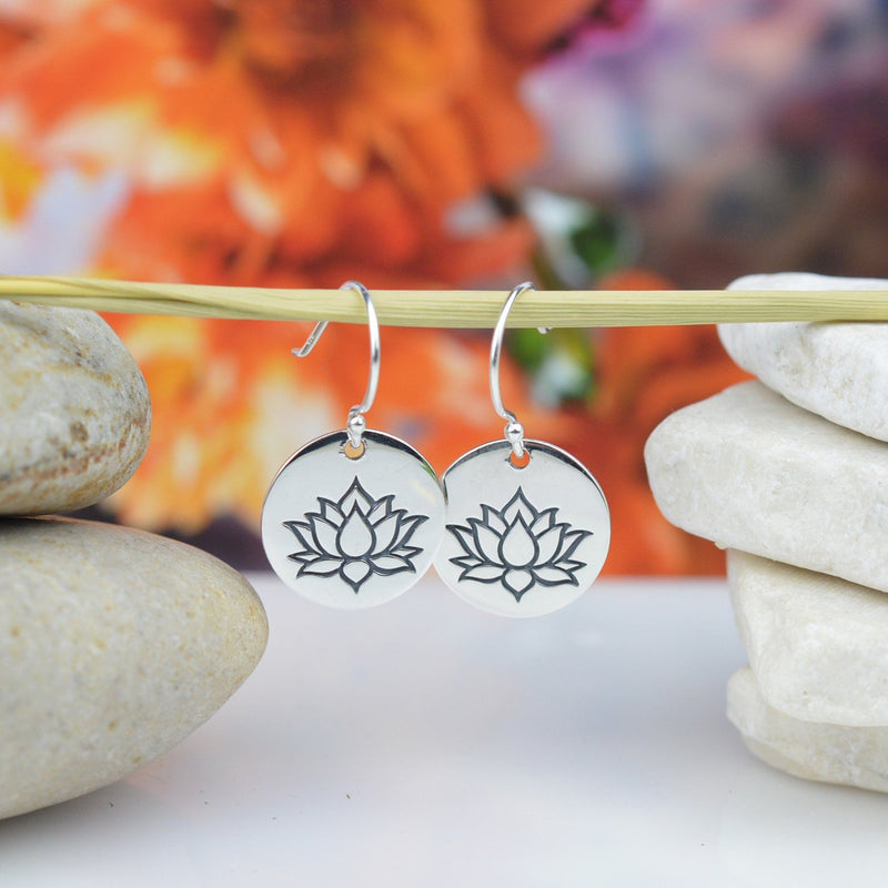 Earrings - Lotus Flower earrings