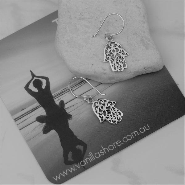 Earrings - Hamsa Hand Earrings