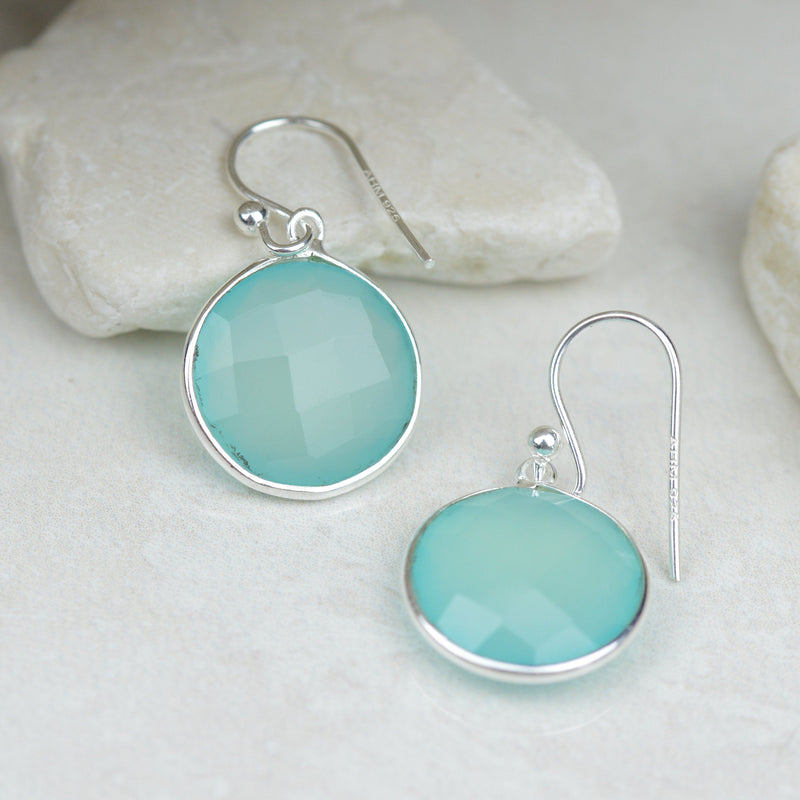 Earrings -  Chalcedony Earrings