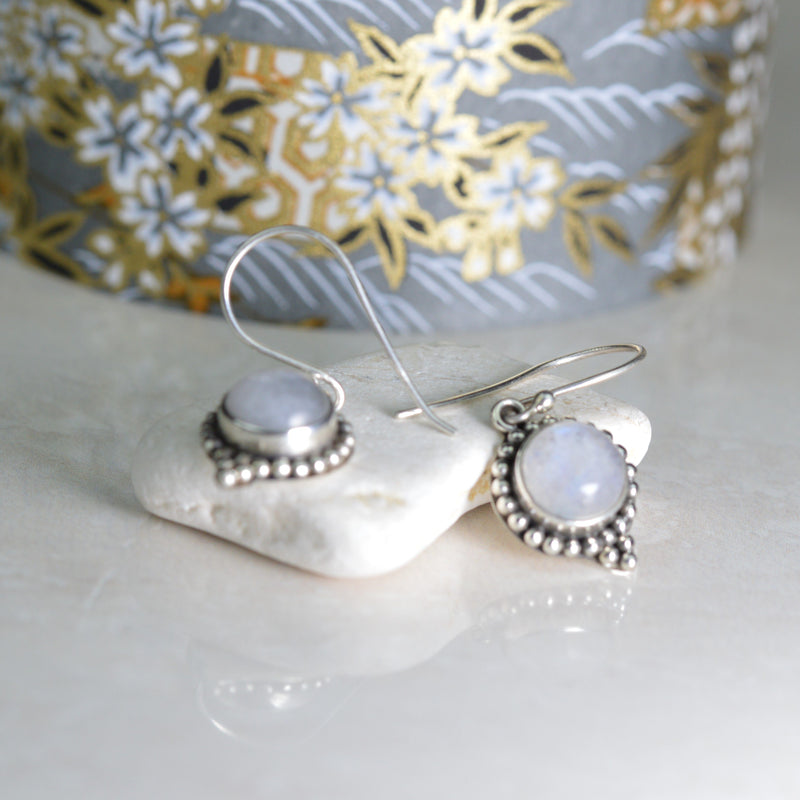 Earrings - Moonstone  Earrings