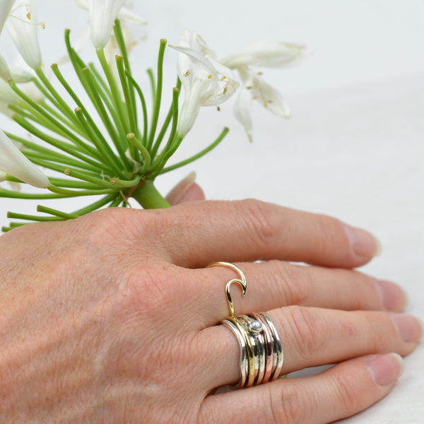 Rings - Gold Wave Ring