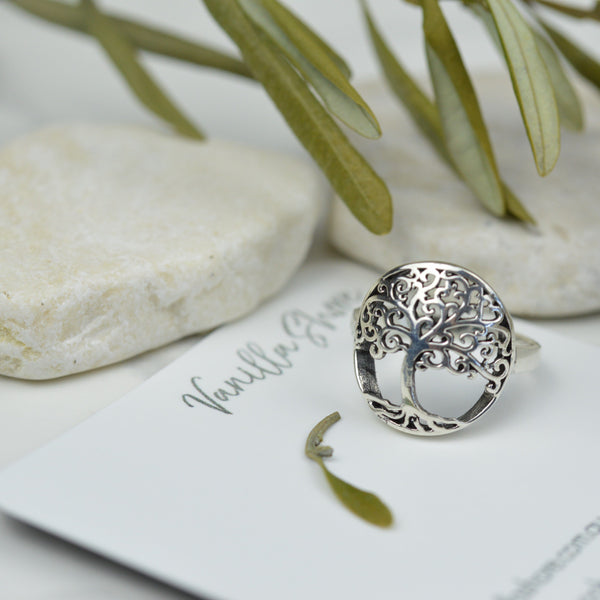 Rings - Sterling Silver Tree Of Life Ring