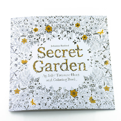 24-Page Secret Garden Coloring Book For Adults