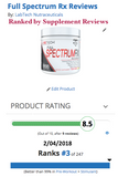LabTech Full Spectrum RX Pre-Workout - LabTechNutraceuticals