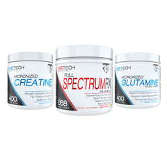 Pre-Workout Bundle (Full Spectrum + Creatine + Glutamine)