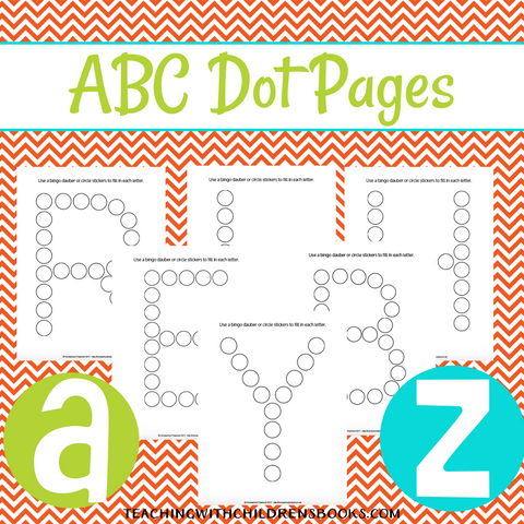 Alphabet ABC Do-a-Dot Marker Pages