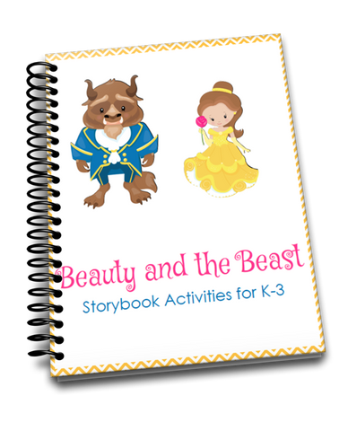 Beauty and the Beast Storybook Activities