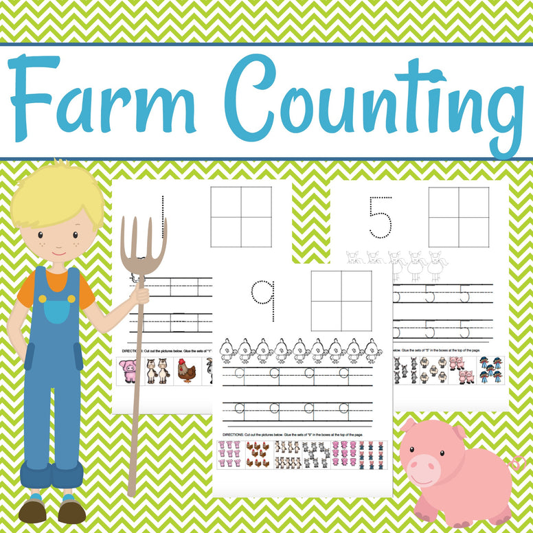 Farm-Themed Counting and Number Sense