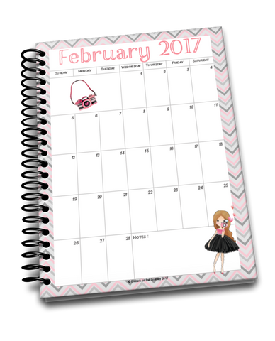 February Planner for Middle and High Schoolers