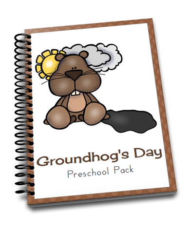 Groundhog Day Early Learning Pack