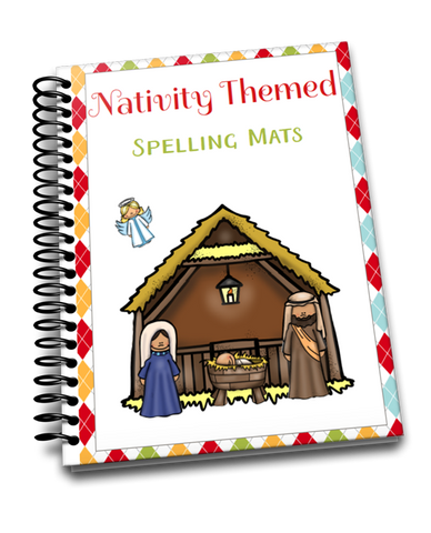 Nativity Spelling Mats