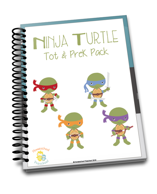 Ninja Turtles Learning Pack
