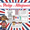 Pledge of Allegiance Mini-Book and Vocabulary Cards