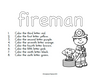 Fireman Themed Early Learning Pack