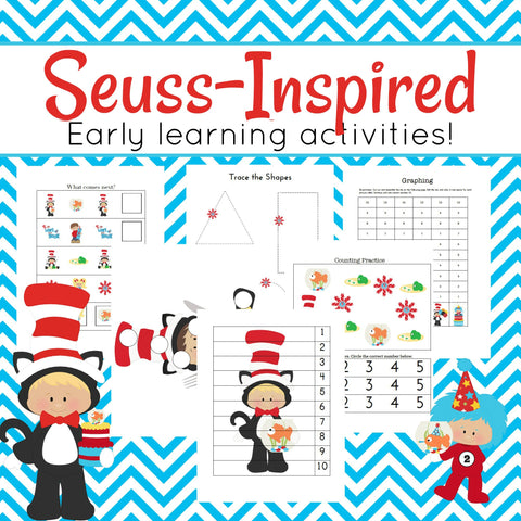 Dr. Seuss Inspired Storybook Activities
