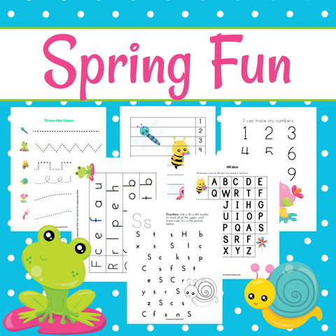 Spring Fun Early Learning Activities