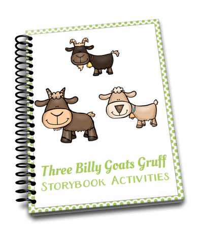Three Billy Goats Gruff Storybook Activities