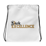 BLACK EXCELLENCE- DRAWSTRING BAG (#GOLD SERIES)