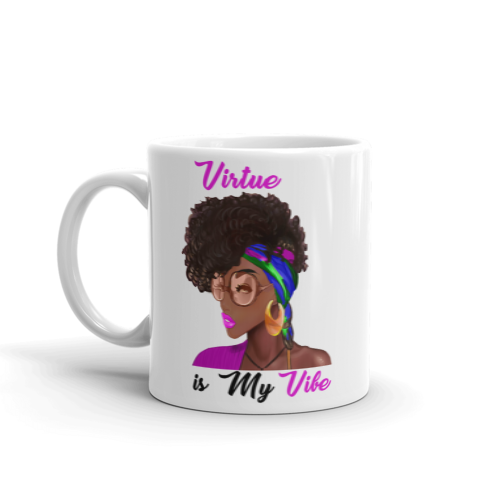 VIRTUE- COFFEE MUG-15 OZ. (#DARLING SERIES)