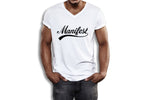 MANIFEST - UNISEX V-NECK SHIRT (#AFFIRMATION SERIES)