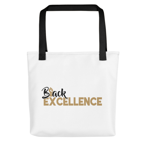 BLACK EXCELLENCE- UNISEX TOTE (#GOLD SERIES)