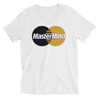 MASTERMIND - UNISEX V-NECK SHIRT (#GOLD SERIES)