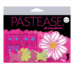 Pastease Body Art Set Wild Flower Multi Color O/S