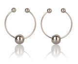 Nipple Play Non Piercing Nipple Rings Silver
