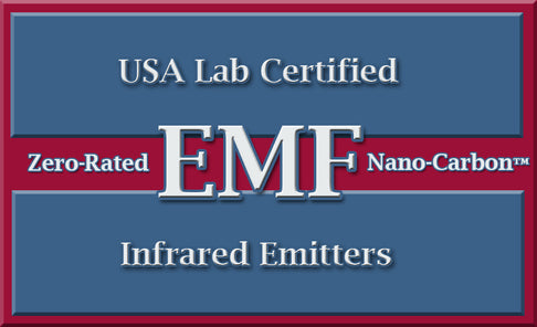 USA Lab Certified Zero Rated EMF Nano Carbon Infrared Emitters