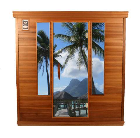 Now You Can Personalize Your New Rocky Mountain Sauna With One Of Our Images Or Own Great Vacation Pictures