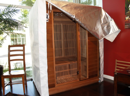 A Rocky Mountain Sauna with a Thermal Cover