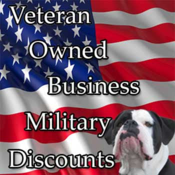 Veteran Owned Military & Business Discounts Available