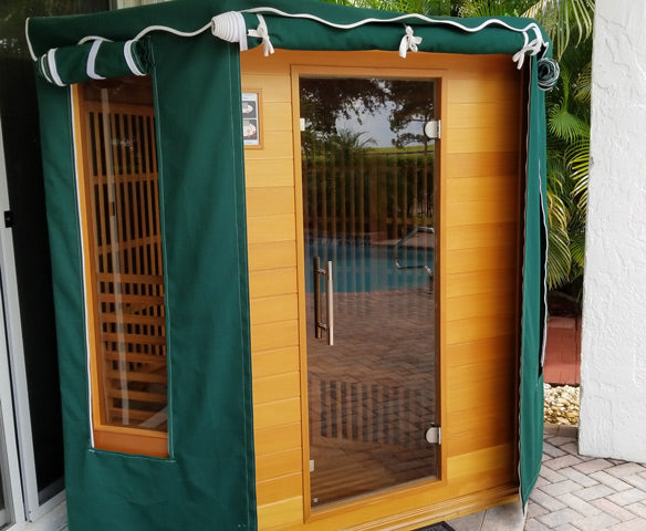 Rocky Mountain Saunas Rio Grande Sauna with Optional Cover
