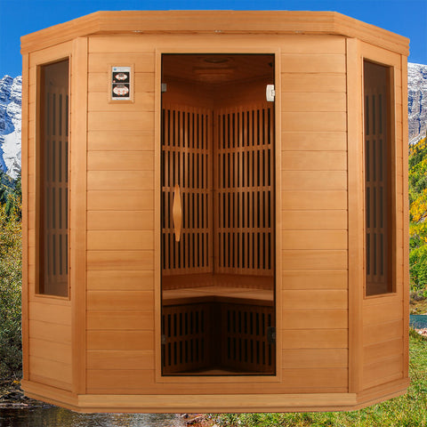In home sauna colorado model by rocky mountain saunas in for Home sauna