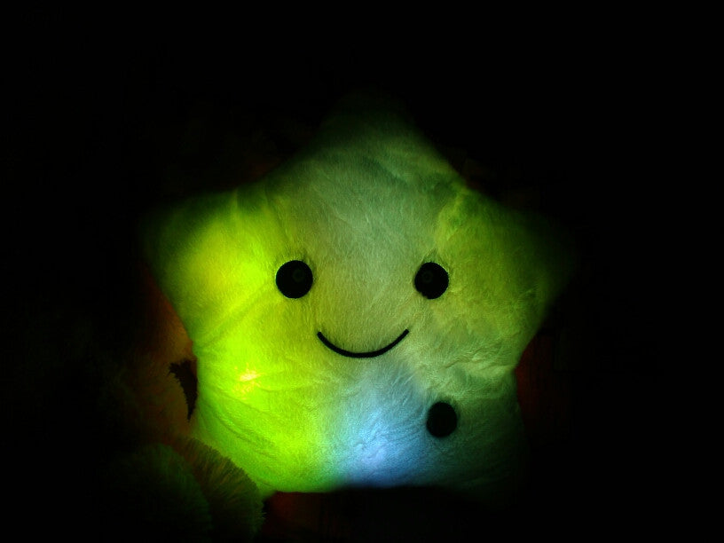 B-Hash™ Glowing Star Pillow