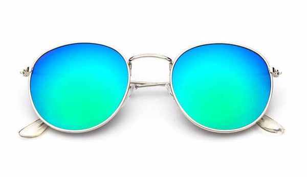 Oval Mirrored Sunglass