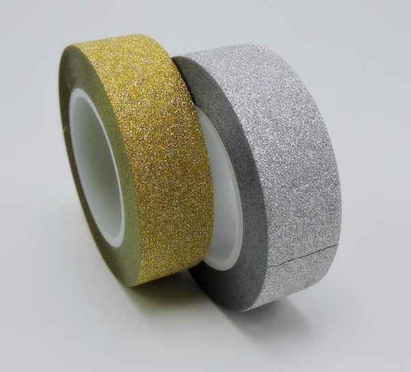 Adhesive Glitter Scrapbooking Tapes
