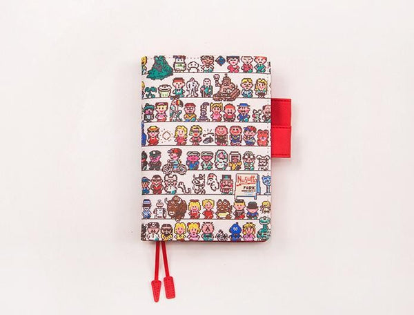 Cartoon Style Leather Journal Cover